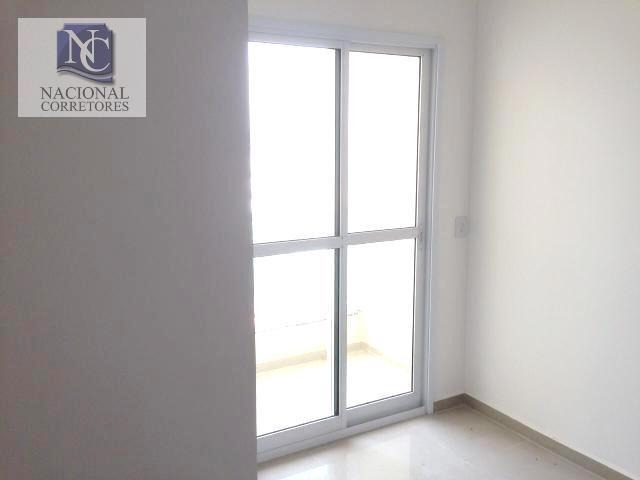 cobertura com 2 dormitórios à venda, 120 m² por r$ 285.000,00 - parque das nações - santo andré/sp - co2119