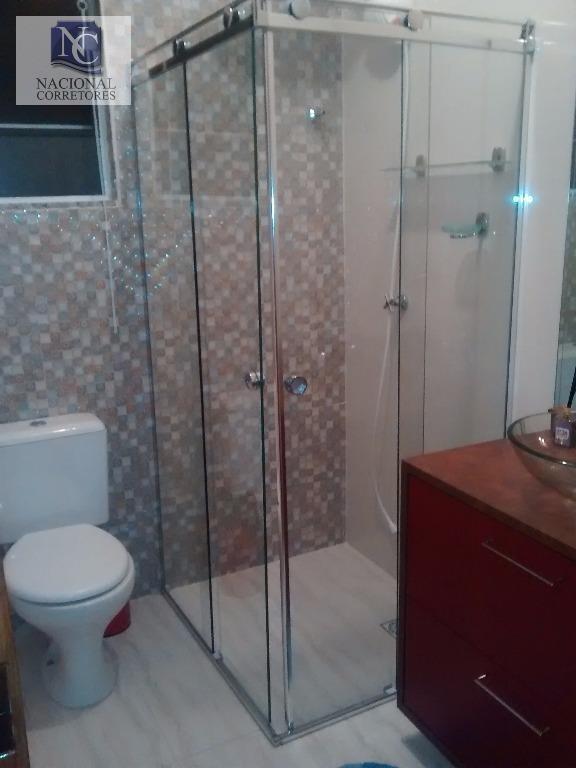 cobertura com 2 dormitórios à venda, 160 m² por r$ 500.000 - vila camilópolis - santo andré/sp - co2195