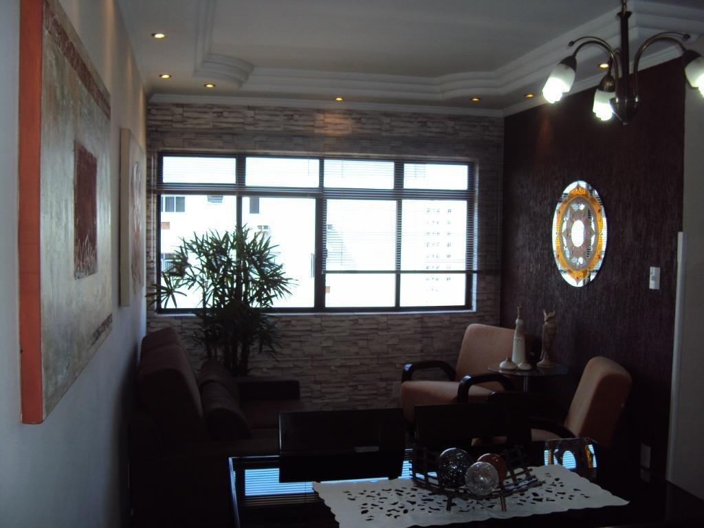 cobertura com 2 dormitórios à venda, 160 m² por r$ 650.000,00 - aparecida - santos/sp - co0110