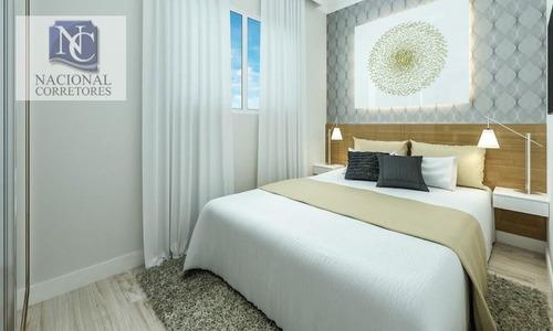 cobertura com 2 dormitórios à venda, 40 m² por r$ 249.000 - vila pires - santo andré/sp - co2010