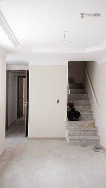 cobertura com 2 dormitórios à venda, 45 m² por r$ 290.000 - vila pires - santo andré/sp - co0218