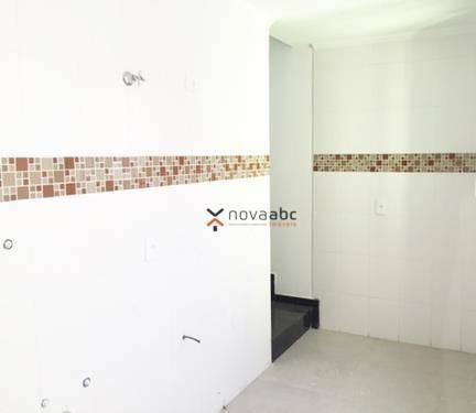 cobertura com 2 dormitórios à venda, 52 m² por r$ 320.000 - vila camilópolis - santo andré/sp - co0136