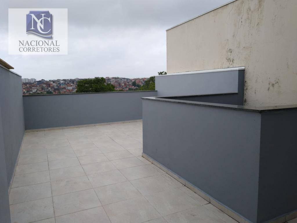 cobertura com 2 dormitórios à venda, 76 m² por r$ 255.000 - jardim utinga - santo andré/sp - co4559