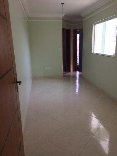 cobertura com 2 dormitórios à venda, 80 m² por r$ 250.000 - parque erasmo assunção - santo andré/sp - co2638