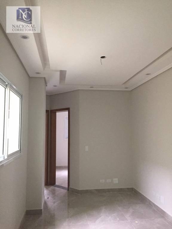 cobertura com 2 dormitórios à venda, 86 m² por r$ 260.000 - parque jaçatuba - santo andré/sp - co3692