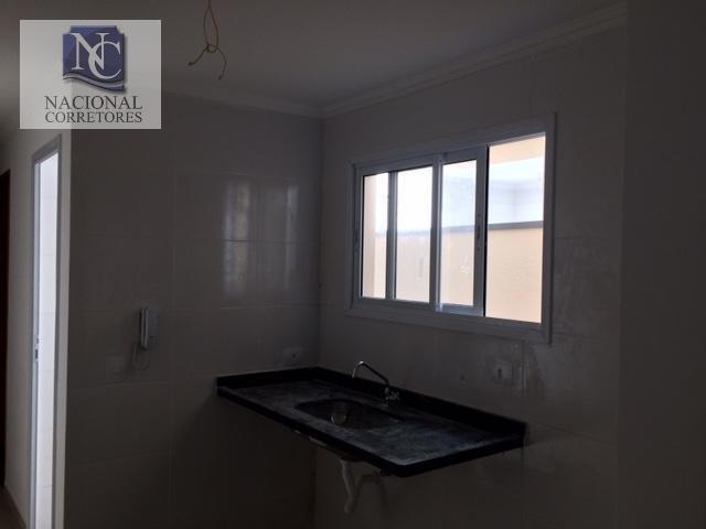 cobertura com 2 dormitórios à venda, 87 m² por r$ 244.000,00 - jardim santo antônio - santo andré/sp - co2447