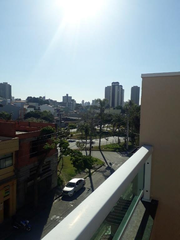 cobertura com 2 dormitórios à venda, 96 m² por r$ 300.000,00 - vila pires - santo andré/sp - co0563