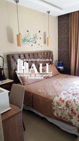 cobertura com 2 dorms, vila nossa senhora do bonfim, são josé do rio preto - r$ 679 mil, cod: 3486 - v3486