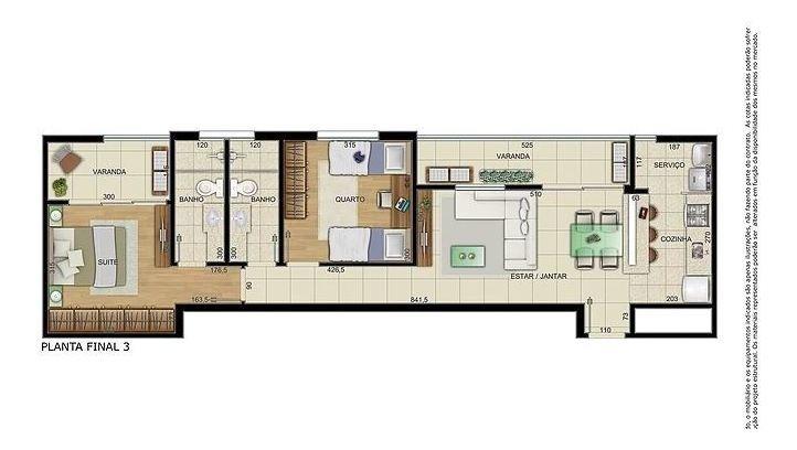 cobertura com 2 quartos para comprar no vila da serra em nova lima/mg - 2093