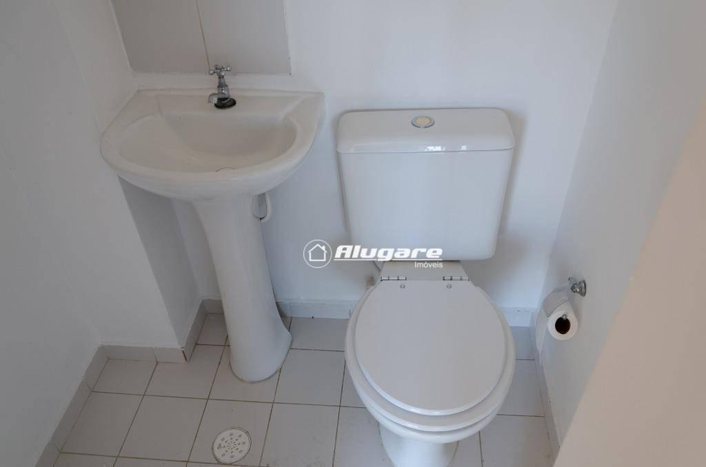 cobertura com 3 dormitórios para alugar, 126 m² por r$ 2.200,00/mês - jardim santa mena - guarulhos/sp - co0005