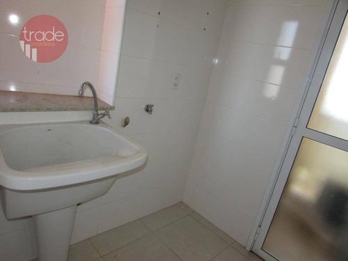 cobertura com 3 dormitórios para alugar, 168 m² por r$ 3.700/mês - jardim irajá - ribeirão preto/sp - co0133