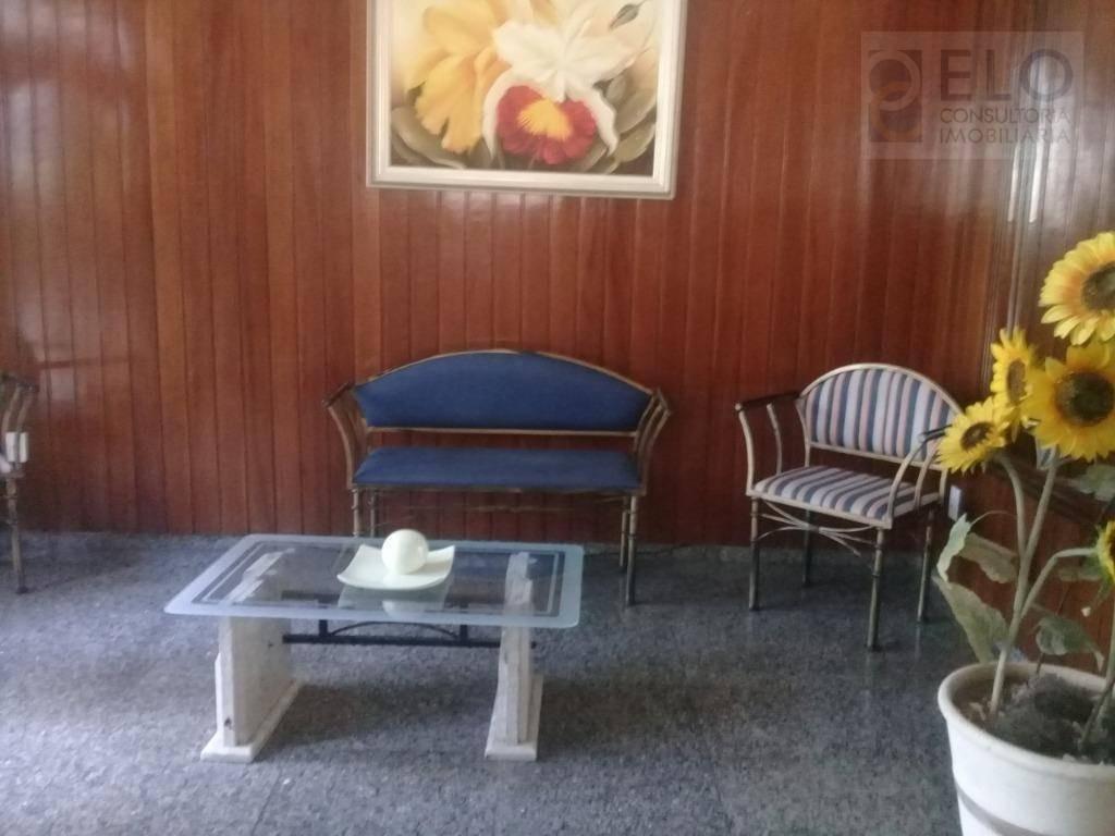 cobertura com 3 dormitórios para alugar, 280 m² por r$ 8.500,00/mês - pompéia - santos/sp - co0057