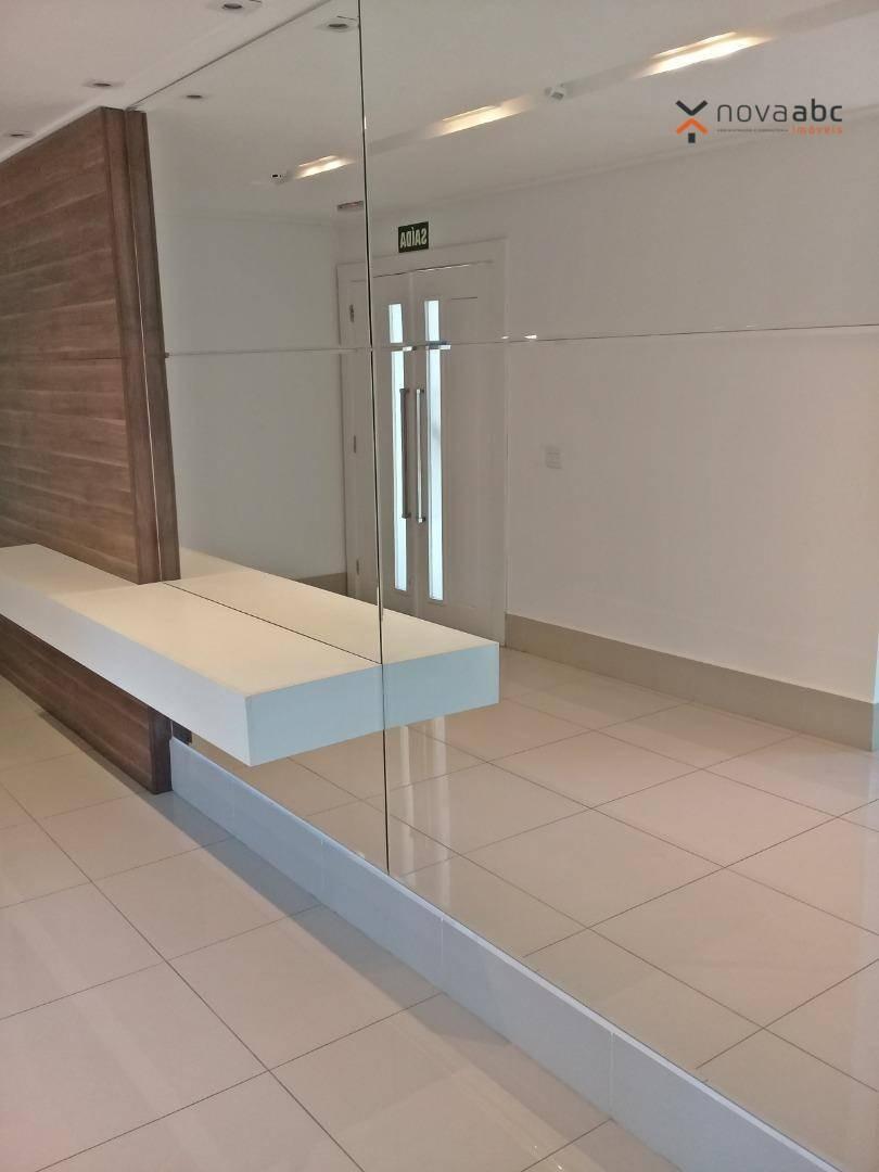 cobertura com 3 dormitórios para alugar, 85 m² por r$ 4.500/mês - jardim - santo andré/sp - co0420