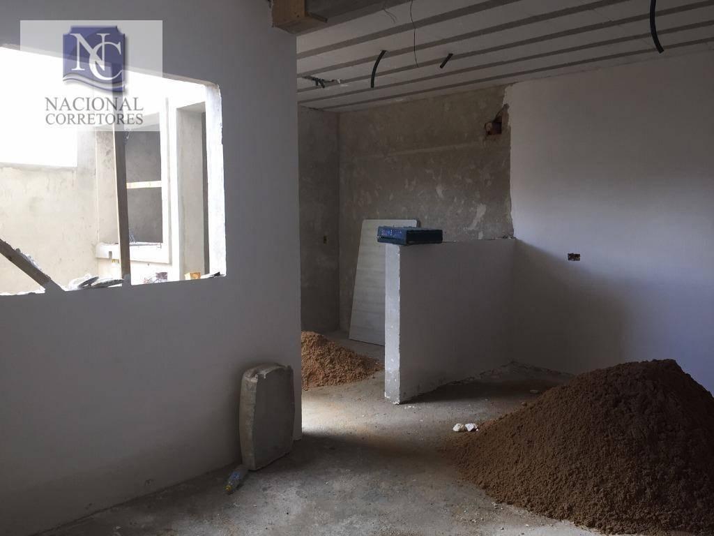 cobertura com 3 dormitórios à venda, 130 m² por r$ 330.000 - jardim santo antônio - santo andré/sp - co4315