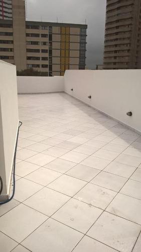 cobertura com 3 dormitórios à venda, 140 m² por r$ 420.000 - vila assunção - santo andré/sp - co0854