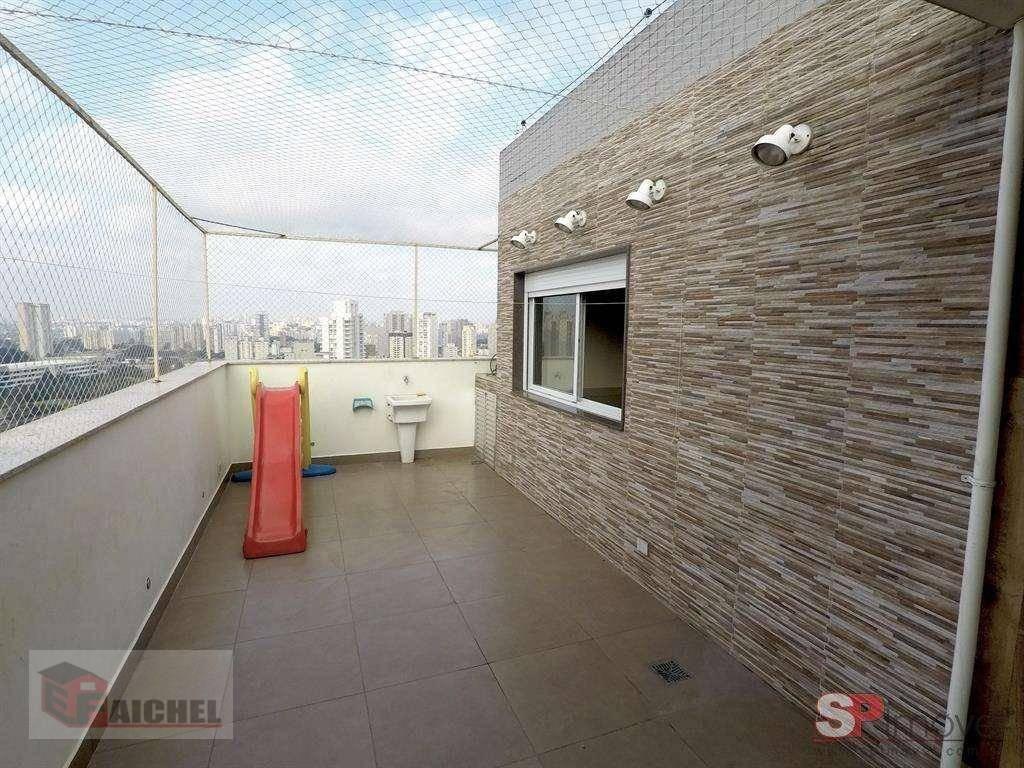 cobertura com 3 dormitórios à venda, 157 m² por r$ 965.000 - tatuapé - são paulo/sp - co0007
