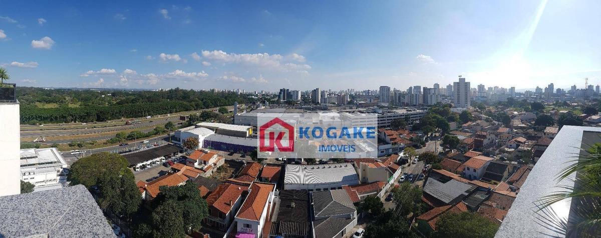 cobertura com 3 dormitórios à venda, 177 m² por r$ 700.000,00 - jardim augusta - são josé dos campos/sp - co0007