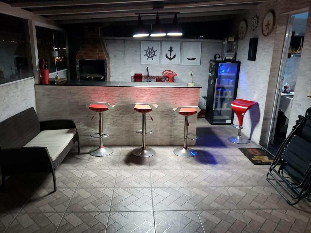 cobertura com 3 dormitórios à venda, 180 m² por r$ 796.000,00 - vila carrão - são paulo/sp - co0041