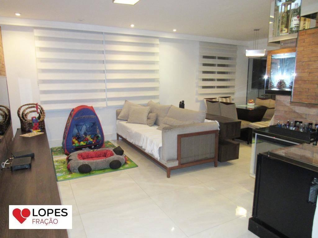 cobertura com 3 dormitórios à venda, 188 m² por r$ 1.350.000,00 - mooca - são paulo/sp - co0047