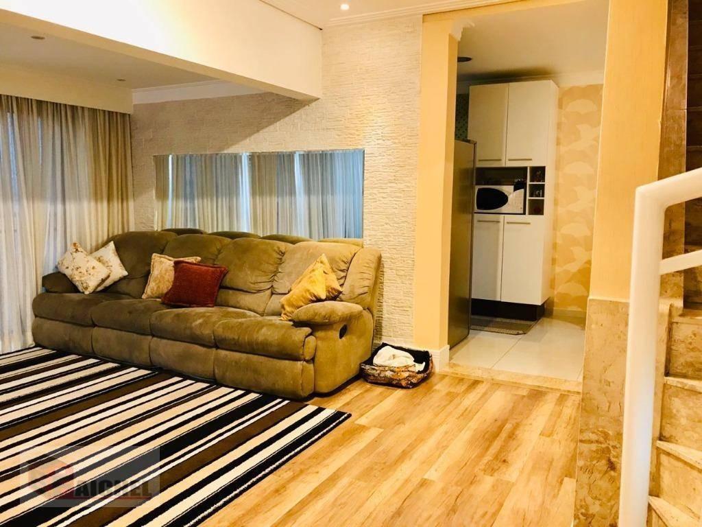 cobertura com 3 dormitórios à venda, 190 m² por r$ 1.305.000 - vila carrão - são paulo/sp - co0009