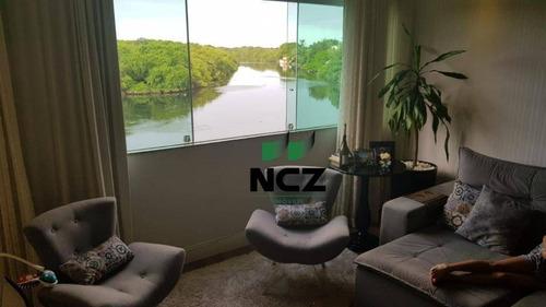 cobertura com 3 dormitórios à venda, 198 m² por r$ 550.000 - buraquinho - lauro de freitas/ba - co0118