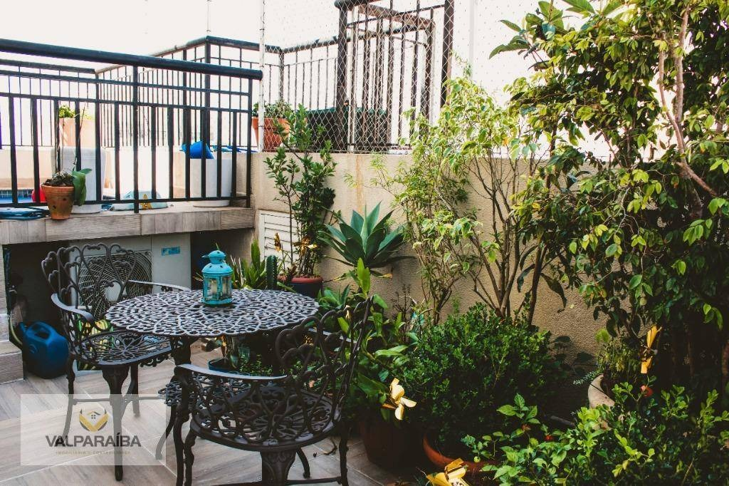 cobertura com 3 dormitórios à venda, 216 m² por r$ 1.595.000 - jardim aquarius - são josé dos campos/sp - co0018