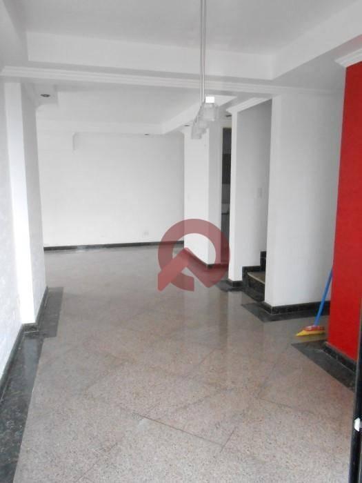 cobertura com 3 dormitórios à venda, 238 m² por r$ 880.000 - campo da aviação - praia grande/sp - co0004
