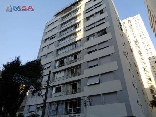 cobertura com 3 dormitórios à venda, 239 m² por r$ 2.150.000,00 - higienópolis - são paulo/sp - co0330