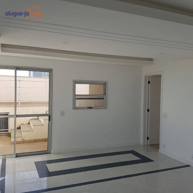 cobertura com 3 dormitórios à venda, 250 m² por r$ 750.000,00 - jardim das colinas - são josé dos campos/sp - co0100