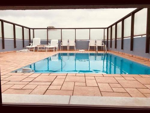 cobertura com 3 dormitórios à venda, 260 m² por r$ 2.500.000 - campo belo - são paulo/sp- forte prime imoveis - co0373