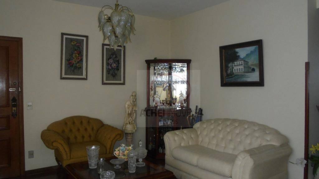 cobertura com 3 dormitórios à venda, 270 m² por r$ 1.400.000 - aparecida - santos/sp - co0050