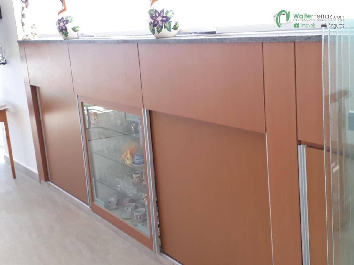 cobertura com 3 dormitórios à venda, 320 m² por r$ 3.000.000 - boqueirão - santos/sp - co0015
