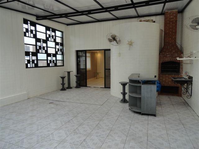 cobertura com 3 dormitórios à venda, 339 m² por r$ 580.000,00 - marapé - santos/sp - co0022