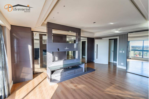 cobertura com 3 dormitórios à venda, 433 m² por r$ 3.200.000,00 - ecoville - curitiba/pr - co0165