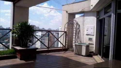 cobertura com 3 dorms, moema, são paulo - r$ 1.700.000,00, 160m² - codigo: 390 - v390