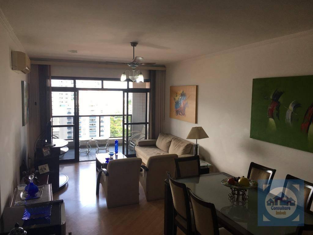 cobertura com 4 dormitórios à venda, 405 m² por r$ 1.800.000 - aparecida - santos/sp - co0097
