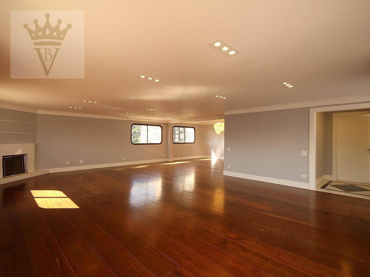 cobertura com 4 dormitórios à venda, 453 m² por r$ 5.500.000,00 - higienópolis - são paulo/sp - co0001