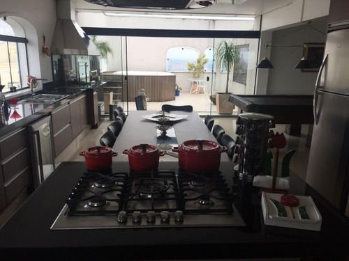 cobertura com 4 dormitórios à venda, 590 m² por r$ 2.975.000 - chácara flora - são paulo/sp - co0475