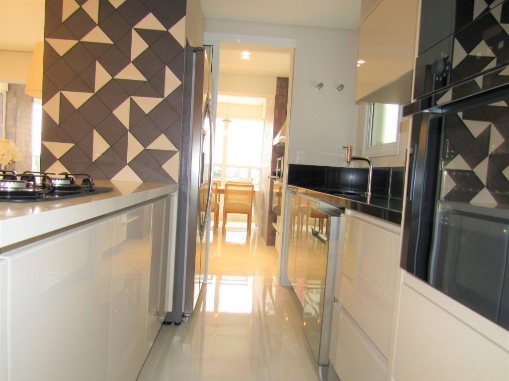 cobertura com 4 dormitórios,varanda gourmet - co0043