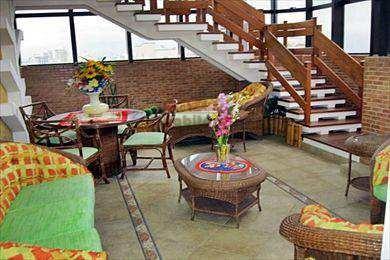 cobertura com 4 dorms, boqueirão, praia grande - r$ 2.500.000,00, 394m² - codigo: 250600 - v250600