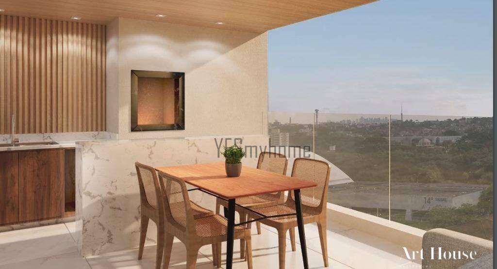 cobertura com 4 suites à venda, 288 m² por r$ 3.056.345 - juvevê - curitiba/pr - co0311