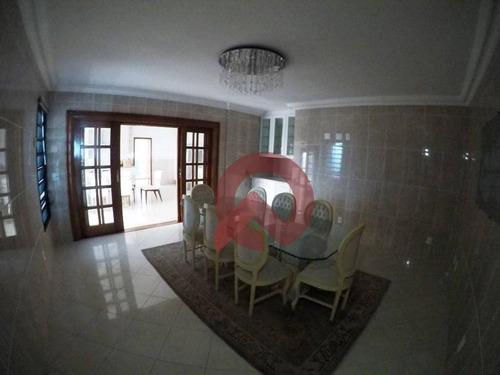 cobertura com 5 dormitórios à venda, 257 m² por r$ 2.500.000 - aviação - praia grande/sp - co0042