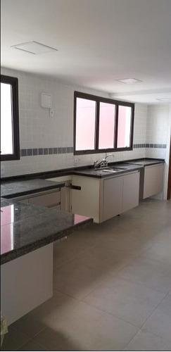 cobertura com 5 dormitórios à venda, 320 m² por r$ 1.850.000 - alto da boa vista - são paulo/sp - co0545