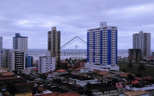 cobertura com piscina e churrasqueira com vista mar cob1043