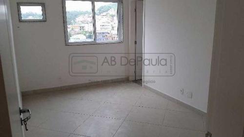 cobertura condomínio nova valqueire -  primeira locação com 150 m² de área construída - abco30002