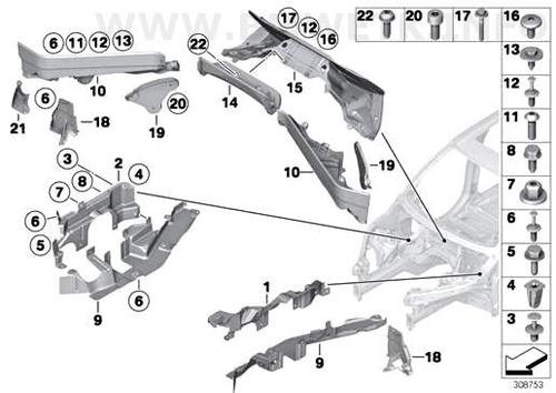 cobertura cx direção superior esquerdo bmw x5 cod 7160237