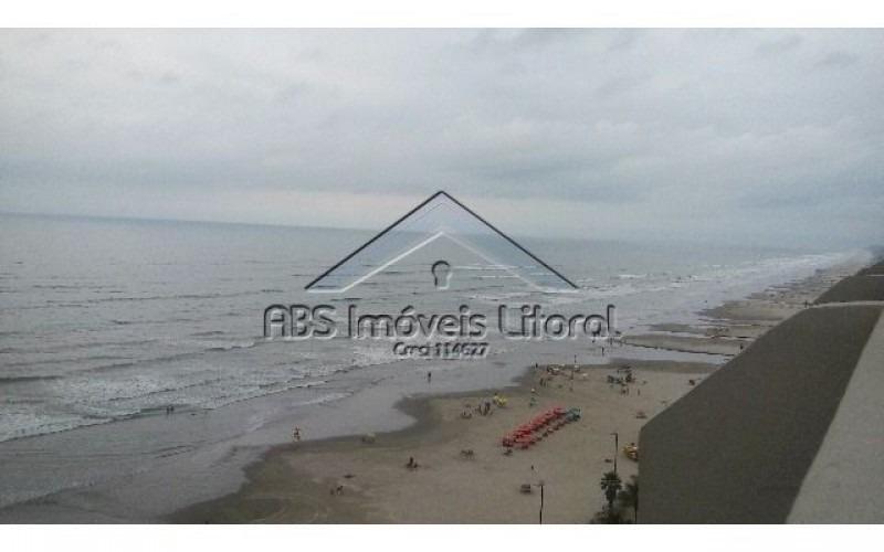 cobertura de frente ao mar na vila caiçara em praia grande sp - cob731