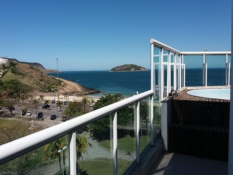 cobertura de frente para praia de piratininga - co00019 - 33612728