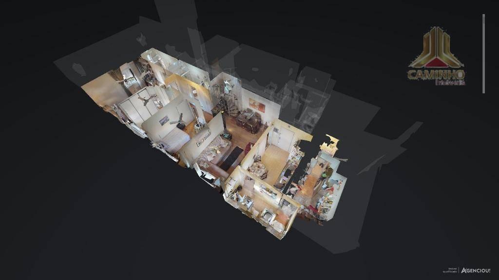 cobertura de três dormitórios, elevador e garagem - co0463