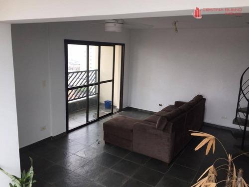cobertura duplex, 2 vgs, vila santa catarina, são paulo - co0019. - co0019